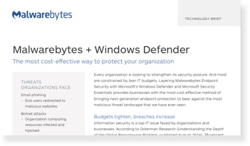 Più forza a Microsoft Windows Defender e Security Essentials
