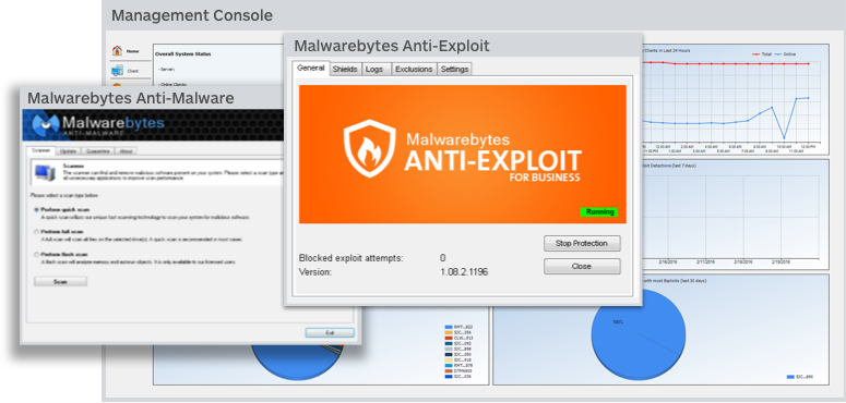 Malwarebytes Endpoint Security screenshot