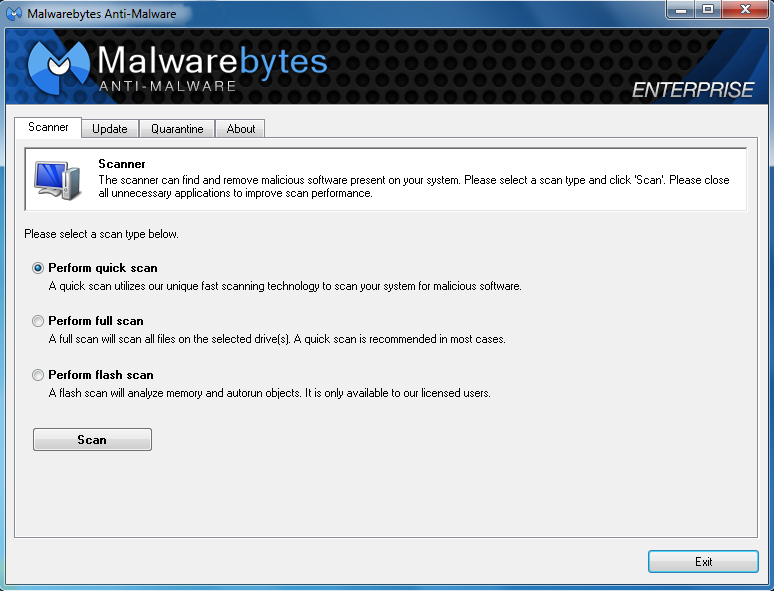 Anti-malware technology on endpoint (Windows)