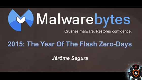 2015: The Year of the Flash Zero-Days